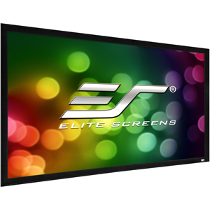 "Elite Screens ezFrame 2 R120WH2 120"" Fixed Frame Projection Screen"