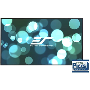 "Elite Screens Aeon AR150WH2 150"" Fixed Frame Projection Screen"