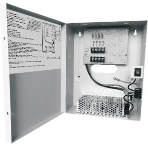 W Box 12VDC 5 Amp CCTV Power Supply