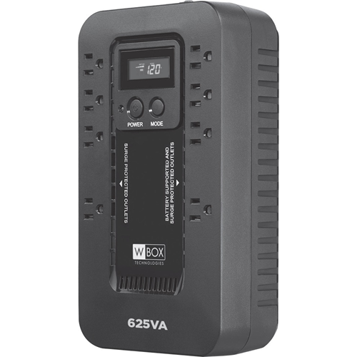 W Box (625V8LCD) General Purpose UPS