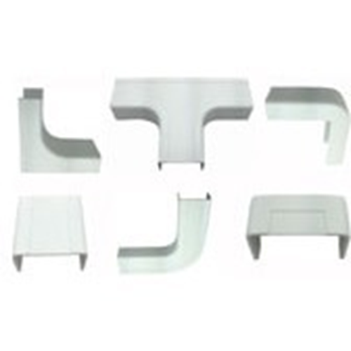 """W Box 1-1/4"""" X 3/4"""" Combo Pack White (2 of all connectors except drop ceiling)"""