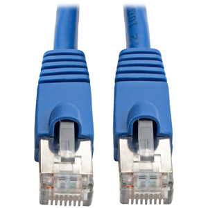 AUGMENTED SHIELDED 10G CABLE BLUE 3-FT.