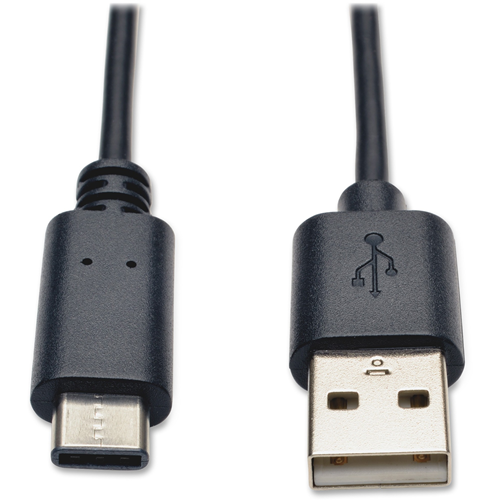 USB 2.0 Hi-Speed Cable, USB 2, A To C, 6', Black