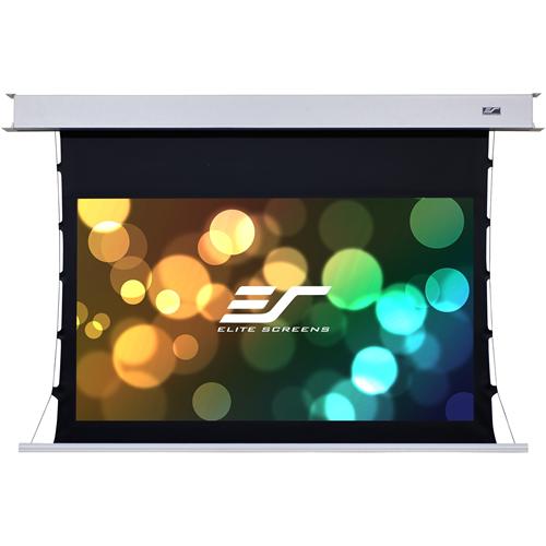 "Elite Screens Evanesce Tab-Tension B ETB110HW2-E8 110"" Electric Projection Screen"