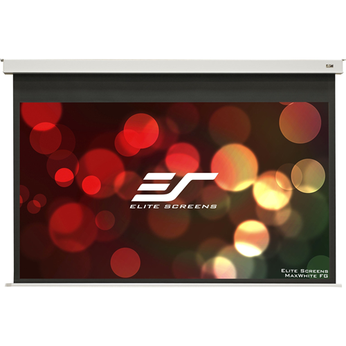 "Elite Screens Evanesce B EB110HW2-E12 110"" Electric Projection Screen"