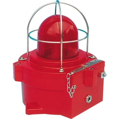 EXPLOSION PROOF, WEATHERPROOF 110VAC STROBE, RED L