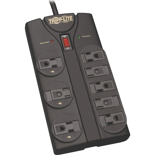 8-OUTLET HOME COMPUTER PROTECTOR, 8-FT