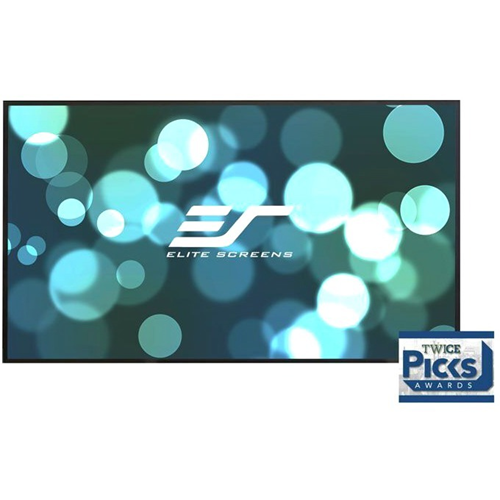 """Elite Screens Aeon CineGrey 3D AR135WH2 135"""" Fixed Frame Projection Screen"""