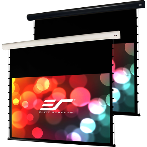 """Elite Screens Starling Tab-Tension STT135XWH2-E6 135"""" Electric Projection Screen"""