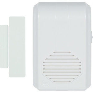 WIRELESS ENTRY ALERT CHIME WITH MAGNETIC SENSOR AN