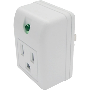 SURGE PROTECTOR 1 AC OUTLET