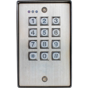 ACCESS OUTDOOR KEYPAD, 2 OUTPUTS