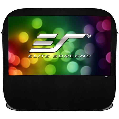 "Elite Screens Pop-up Cinema POP92H 92"" Projection Screen"