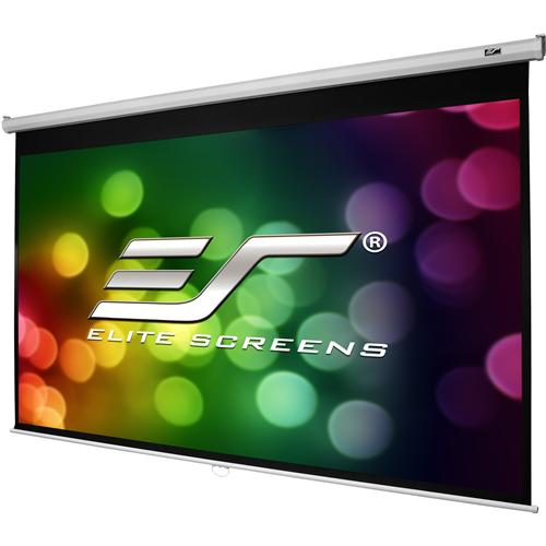 "Elite Screens Manual B M135H 135"" Manual Projection Screen"