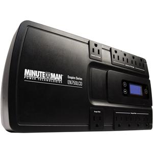 Minuteman Enspire EN750LCD 750VA Floor/Wall Mountable UPS