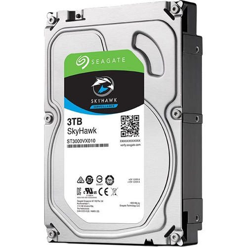 SKYHAWK 3TB SURVEILLANCE 3.5IN 6GB/S SATA 64MB