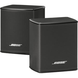 Virtually Invisible 300 Wireless Surround Speakers (Pair, Black)