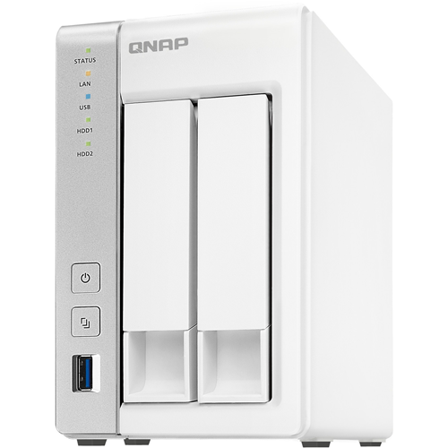 ADI | QNAP 2-bay Personal Cloud NAS with DLNA, mobile apps