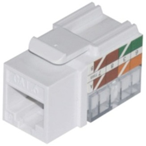 W Box CAT 6 Keystone Jack Vertical 8P8C, RJ45