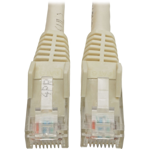 CAT6 GIGABIT SNAGLESS MOLDED WHITE 6 FT.