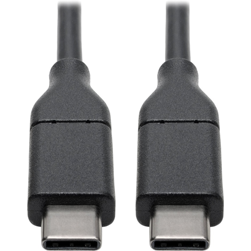 Tripp Lite USB 2.0 Hi-Speed Cable with 5A Rating, USB-C to USB-C (M/M), 3 ft.