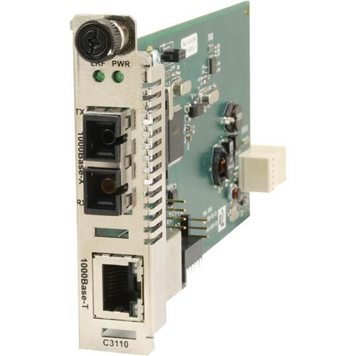 Transition Networks Gigabit Ethernet Media Converter Module 1000Base-T to 1000Base-SX/LX