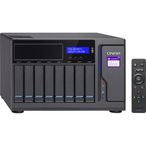 ULTRAHIGH SPEED 8BAY BLURAY NAS INTEL CORE I7-7700 3.6GHZ 32GB RAM