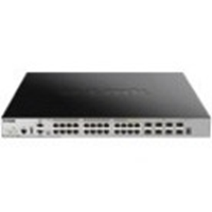 Managed 24-Port L3 PoE switch + 4 10GE SFP+ Ports, SI Image