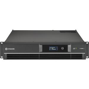 Dsp Pwr Amp 2x650w, Inst W-Fir Drive, Phnix Conn