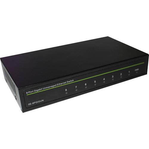 W Box 8 Port Gigabit Unmanaged Ethernet Switch