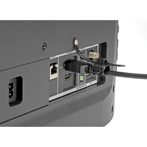 HDMI CABLE LOCK - CLAMP/TIE/SCREW