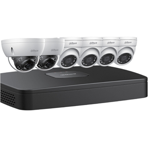 Network Video Recorder, Camera - H.264, H.265 Formats - 3 TB Hard Drive - 30 Fps - 1 Audio In - 1 Audio Out - 1 VGA Out - HDMI