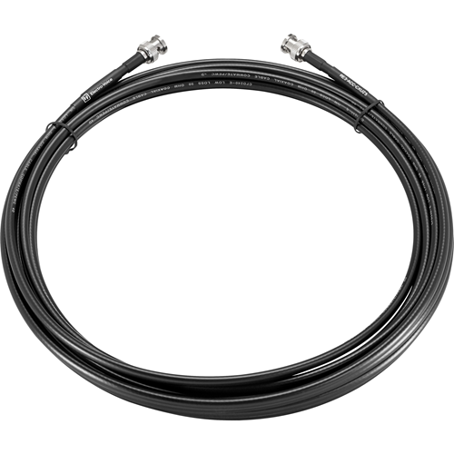 25' 50 Ohm Low Loss BNC Coax Cable
