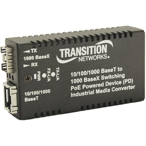 Transition Networks M/GE-xSW-SFP-01-xx-UxX Transceiver/Media Converter