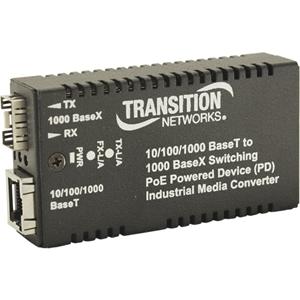 10/100/1000BASETX 1000BASE SFP INDUS RX