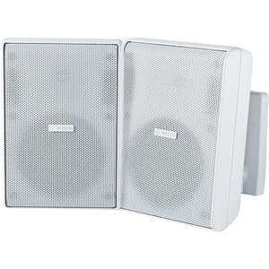 Bosch LB20-PC30-5 2-way Indoor/Outdoor Ceiling Mountable, Surface Mount, Wall Mountable Speaker - 75 W RMS - White