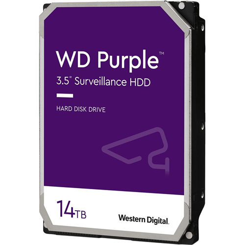 "WD Purple WD140PURZ 14 TB Hard Drive - 3.5"" Internal - SATA (SATA/600)"