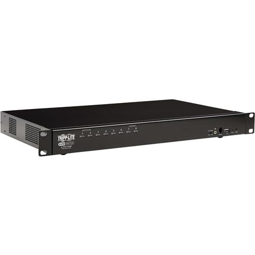 Tripp Lite B024-HU08 8-Port HDMI/USB KVM Switch, 1U