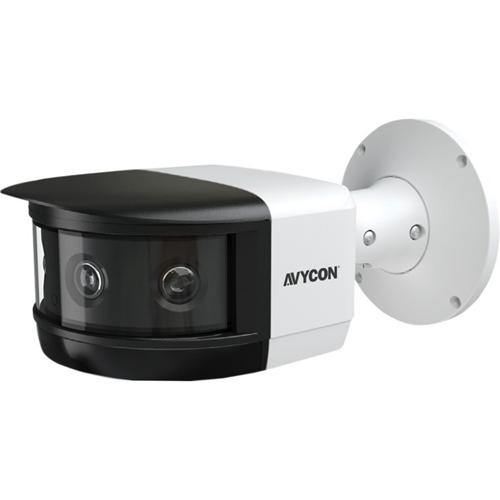 8mp, Ip H.265 IR Multi-Sensor Cam, 3.3mm