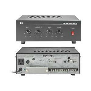 Speco PBM-30 Amplifier - 30 W RMS - 2 Channel - Black