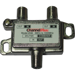 Channel Plus 2532 Bi-Directional Splitters / Combiners