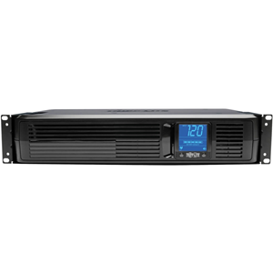UPS Sys.,w/Digital LCD,1500VA, Backup 20min, 8 Outlt,BK