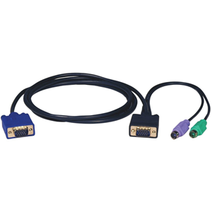 10FT PS2 SLIM CABLE KIT FOR B004-008 KVM SWITCH