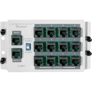 Channel Vision (C-0437) Patch Panel