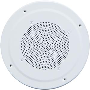 Speco G86TG Ceiling Mountable Speaker - 10 W RMS - White