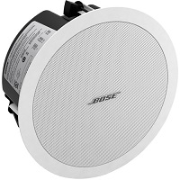 Bose FreeSpace DS 40F Indoor Flush Mount, Pendant Mount, Ceiling Mountable Speaker - 40 W RMS - White