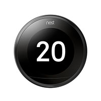 NEST LEARNING STAT-3RD GEN-BLACK CA