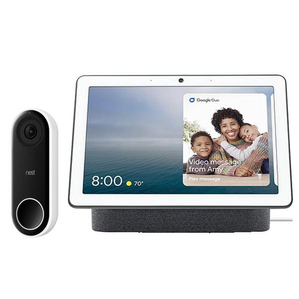 Hello Doorbell & Google Hub Ch