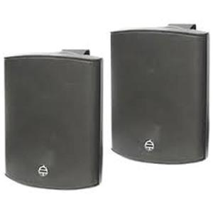 "2 WAY SPEAKER 5""WOOFER, BLACK 70V 15W - PAIR"