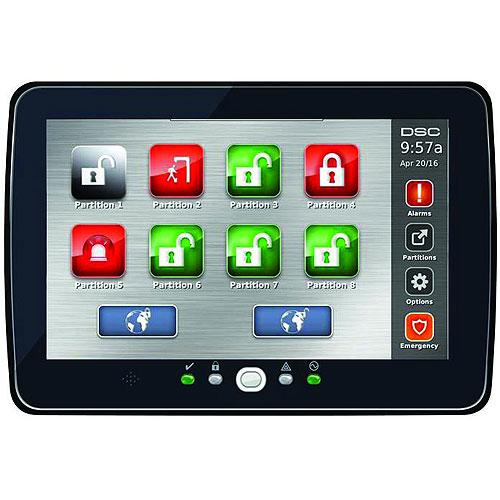 DSC HS2TCHPRO Security Touchscreen Keypad